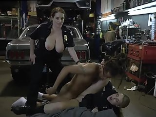 German milf anal fisting and guy white Chop Shop Owner Gets Shut Down