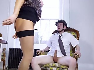 Small milf solo xxx Having Her Way With A Rookie - Jane Way