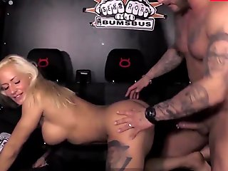 LETSDOEIT - #Fit XXX Sandy - Muscle Gym Trainer Sex On The Van With German Super Hot MILF Wife